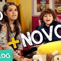 """Novela """"Carinha de Anjo"""": Juju Almeida (Maisa Silva), do """"Vlog da Juju"""", faz vídeo com o irmão! Veja"""