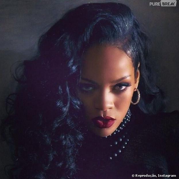 Rihanna tem conta do Instagram cancelada!