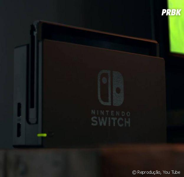 Nintendo Switch tem controles destacáveis e pode ter dois jogadores em duelo