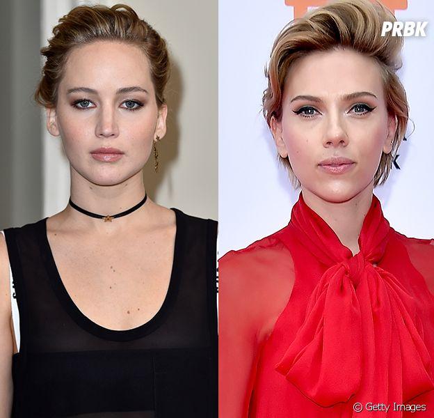 Jennifer Lawrence e Scarlett Johansson vão viver mesmo papel nos cinemas