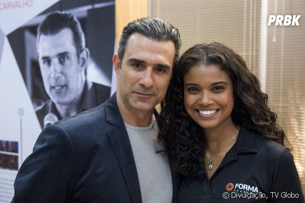 """Em """"Malhação"""", Ricardo (Marcos Pasquim) é um dos candidatos a pai deJoana (Aline Dias)"""