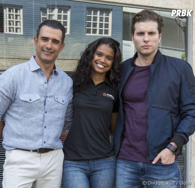 """Em """"Malhação"""", Joana (Aline Dias) vai descobrir se seu pai é Ricardo (Marcos Pasquim) ou Caio (Thiago Fragoso)"""