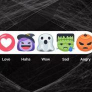 Facebook ganha botões especiais de Halloween e novidade faz sucesso na rede social!