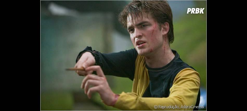 """Robert Pattinson viveuCedric Diggory em """"Harry Potter e o Cálice de Fogo"""""""