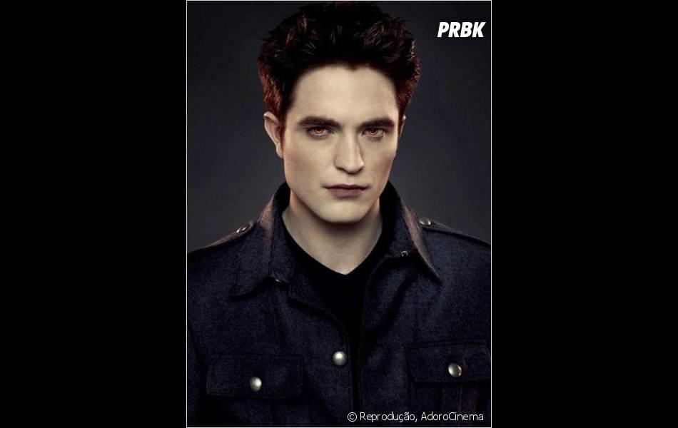 """Robert Pattinson como o vampiro Edward Cullen da saga """"Crepúsculo""""!"""