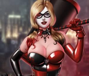 Uma Harley Quinn supersexy, uau!