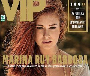 Vej a capa de Marina Ruy Barbosa, mulher mais sexy do mundo em 2016, para a revista VIP