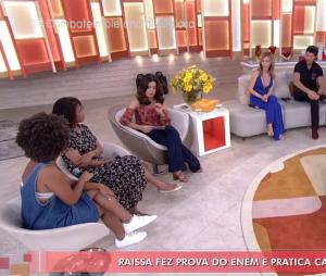 """Além de Luba, o""""Encontro com Fátima Bernardes"""" desta segunda-feira (07) ainda recebeu nomes como Deborah Evelyn e José Loreto"""