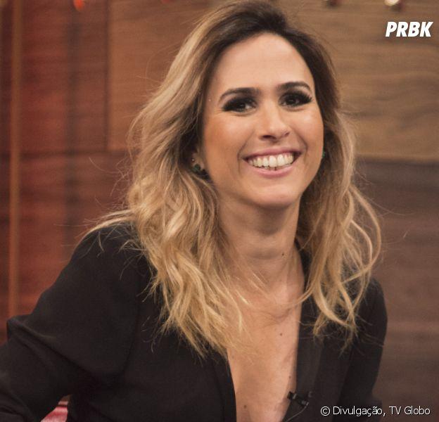 """Tatá Werneck dança hit """"Bang"""" de Anitta em festa de encerramento de """"Haja Coração"""""""