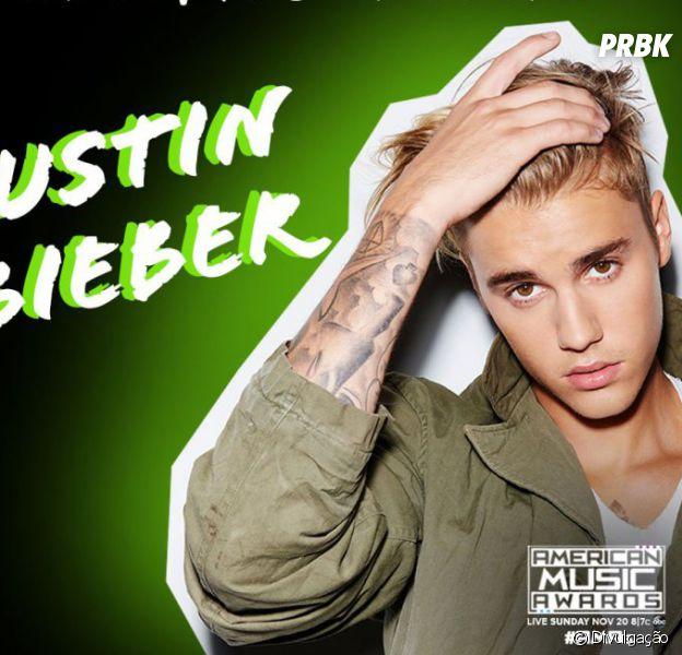 Justin Bieber vai concorrer ao prêmio de Artista do Ano pelo American Music Awards