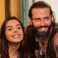 "Novela ""Sol Nascente"": Milena (Giovanna Lancellotti) provoca Ralf e beija Mano!"