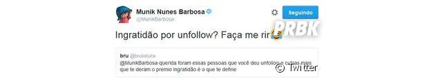 Munik Nunes surpreende fãs com comportamente no Twitter