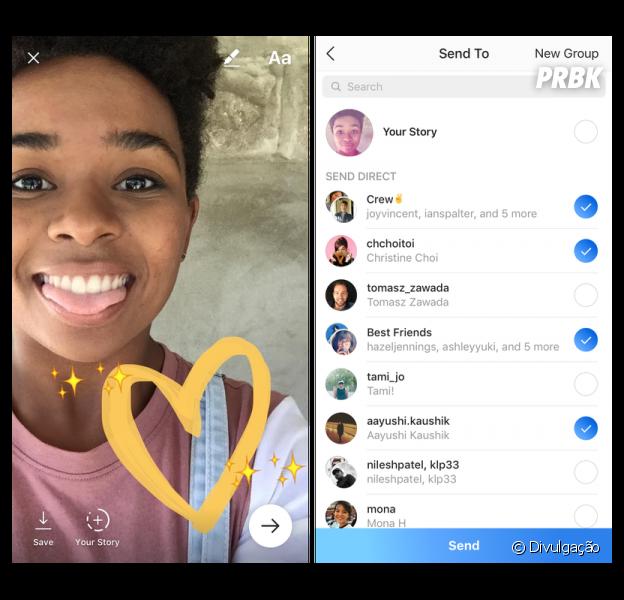 """Instagram agora terá a ferramenta """"transmissão ao vivo"""" para os usuários fazerem as famosas lives com os amigos"""