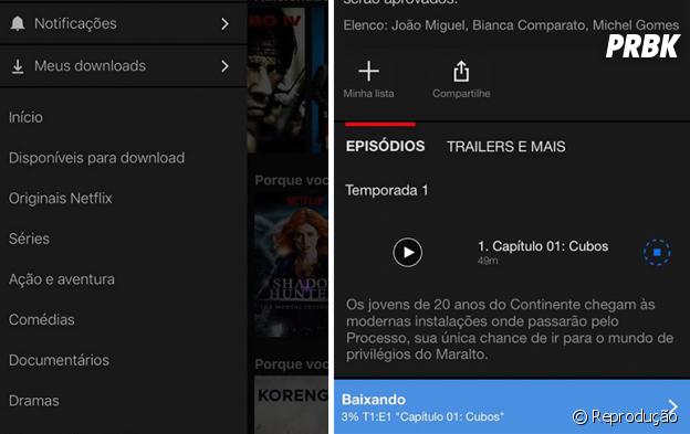 Netflix atualiza seu aplicativo para iOS e Android e agora permite download de conteúdos!