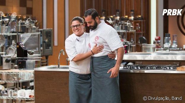 """No """"MasterChef Profissionais"""": Dayse e Marcelo estão na final do programa!"""