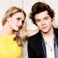 Harry Styles, do One Direction, revela quem é a mais gata do mundo: Rosie Huntington
