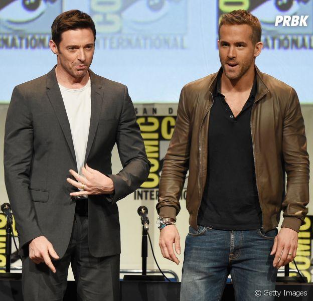 """Deadpool (Ryan Reynolds) pode aparecer em """"Logan"""", novo filme do Wolverine (Hugh Jackman)!"""