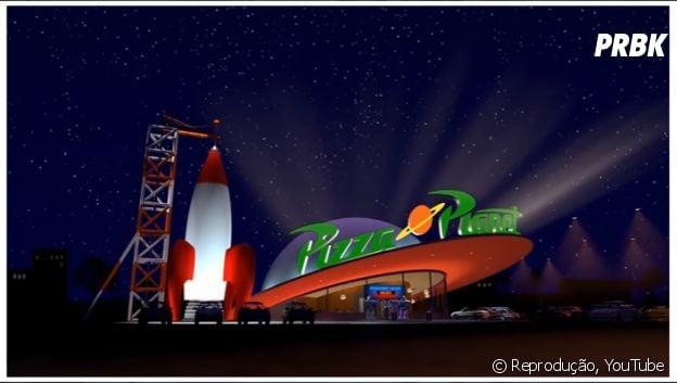 """Carro do Pizza Planet em """"Toy Story"""""""