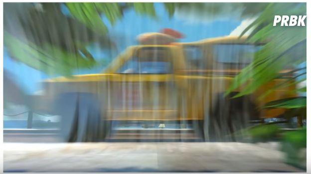 """Carro do Pizza Planet em """"Procurando Nemo"""""""