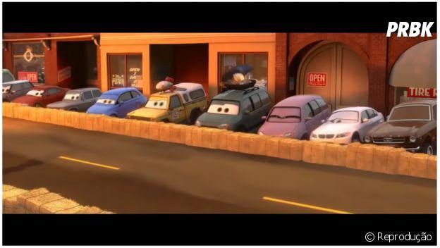 """Carro do Pizza Planet em """"Carros 2"""""""