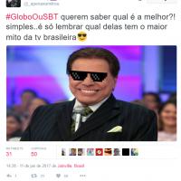 "Hashtag ""GloboOuSBT"" vira trending topic no Twitter e fãs se divertem com a rivalidade na internet!"