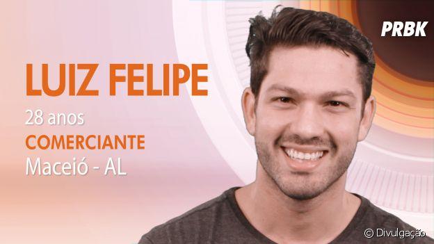 """Do """"Big Brother Brasil 17"""": Luis Felipe é de Alagoas e revela ser um nerd!"""