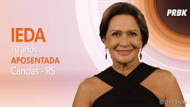 """Do """"Big Brother Brasil"""": Ieda contou que se interessa por homens mais novos"""