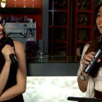 """De """"Em Família"""": Giovanna Antonelli e Tainá Müller falam sobre beijo de Clarina"""