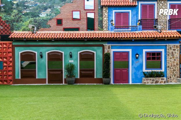 """No """"BBB17"""", casas ganham nova fachada e muita cor!"""