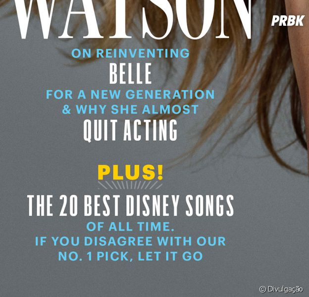 "Emma Watson, de ""A Bela e a Fera"", fala sobre princesa empoderada"