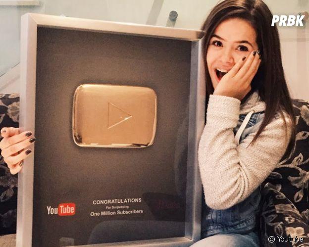 Maisa Silva lacrou com número de seguidores no Youtube!