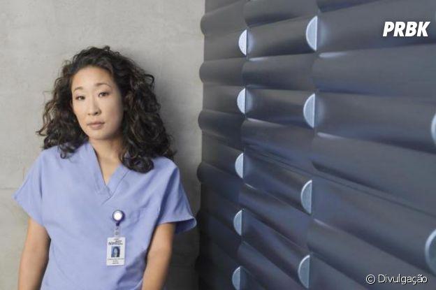 """Sandra Oh interpreta a brilhante Cristina Yang da série """"Grey's Anatomy"""""""