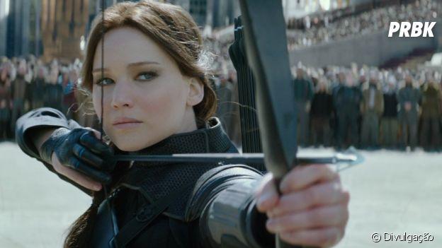 "Jennifer Lawrence deu vida à Katniss Everdeen de ""Jogos Vorazes"""