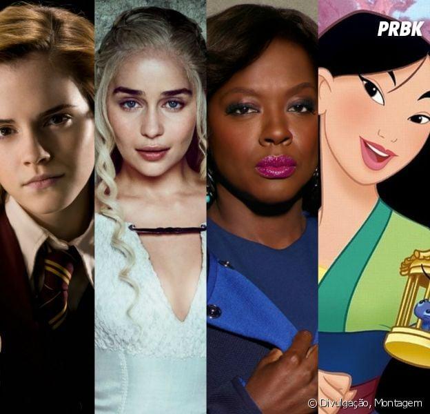 """Harry Potter"", ""Game of Thrones"", ""How To Get Away With Murder"", ""Mulan"" e outras histórias têm mulheres incríveis"