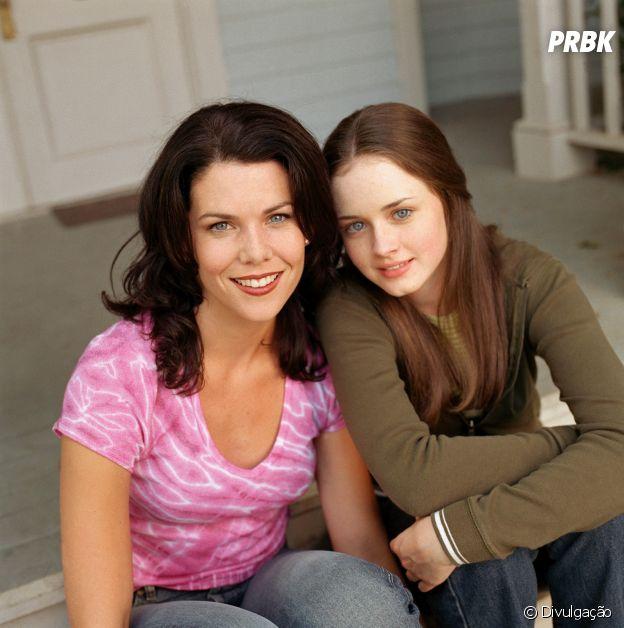 """Lauren Graham e Alexis Bledel são Lorelai e Rory Gilmore, respectivamente, de """"Gilmore Girls"""""""