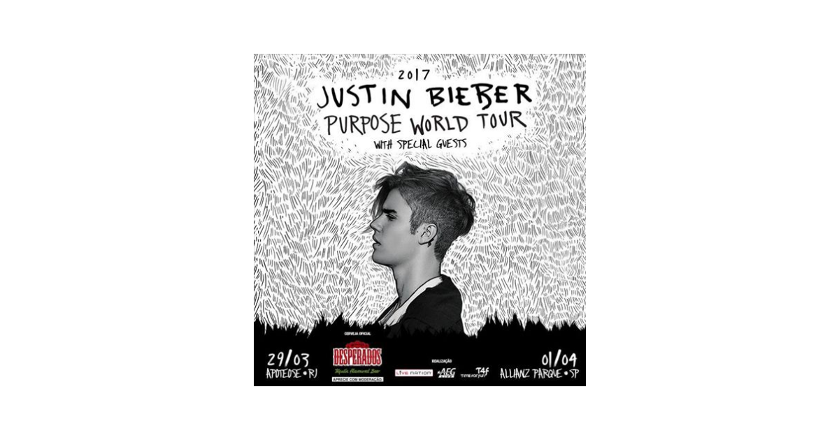 Justin Bieber no Brasil: 5 músicas que você não pode deixar