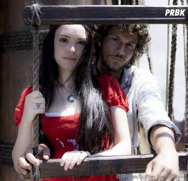 """Em """"Novo Mundo"""": Chay Suede e Isabelle Drummond são os protagonistas!"""