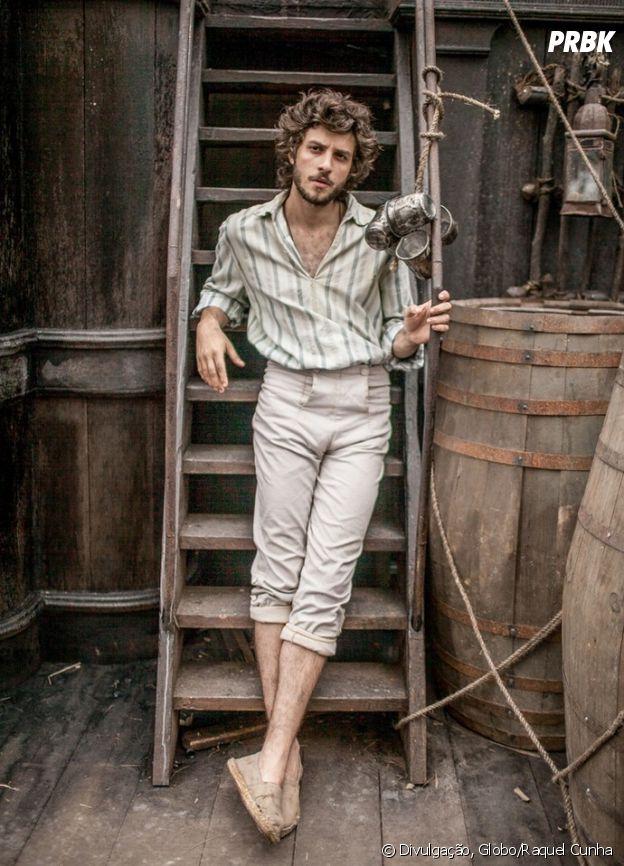 """De """"Novo Mundo"""": Chay Suede viverá o ator Joaquim"""
