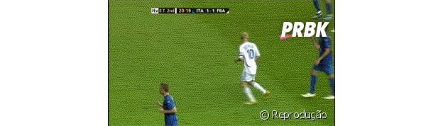 Zidane e a famosa cabeçada