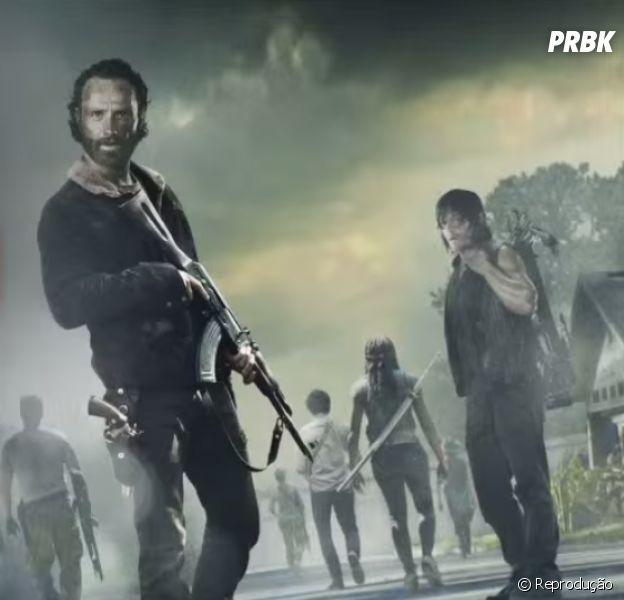 """Em """"The Walking Dead"""": 7ª temporada terminará com um """"um circo trágico de emoção, angústica e graça"""""""