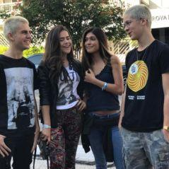 João Guilherme e Maisa Silva se encontram antes de show de Justin Bieber, em São Paulo, e fãs surtam