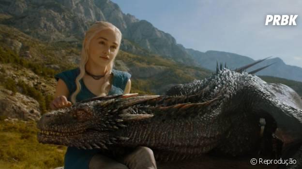 """Em """"Game of Thrones"""", Daenerys (Emilia Clarke) está perdendo o controle"""