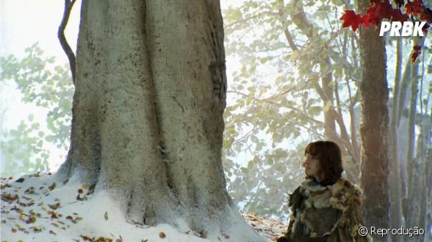 """Bran (Isaac Hempstead-Wright) encontrou seu corvo de três olhos em """"Game of Thrones"""""""