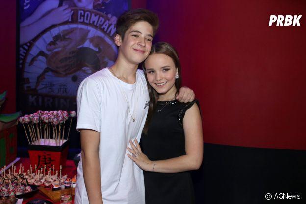 João Guilherme e Larissa Manoela é um casal brasileiro super shippado pela galera