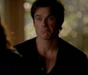 "Damon (Ian Somerhalder) é o personagem mais irônico de ""The Vampire Diaries""!"