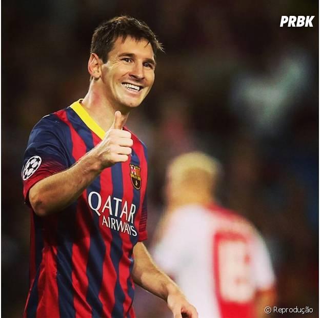 Messi é o primeiro colocado!