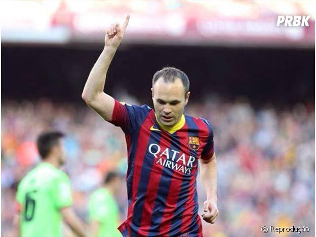 Iniesta é mais um dos jogadores da Espanha na lista!