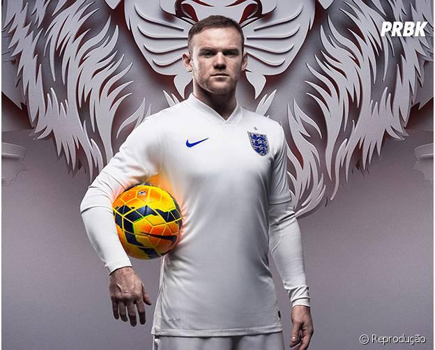 O craque inglês Rooney é um dos mais valiosos do mundo!