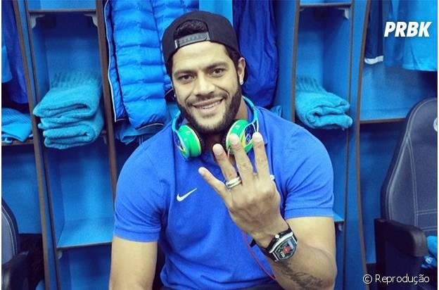 O atacante Hulk, do Brasil, também está na lista de jogadores mais valiosos do mundo!