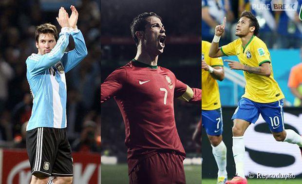 Os 3 jogadores mais valiosos da Copa do Mundo 2014